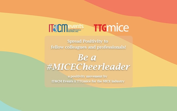IT&CM Events and TTGmice Be a MICECheerleader Campaign